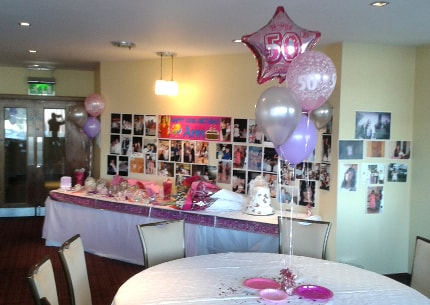 Birthday Party Packages Helium Balloons